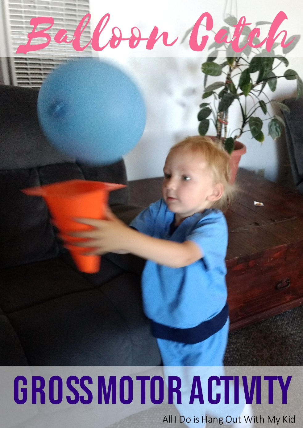A fun way to keep your little ones moving and working their muscles!